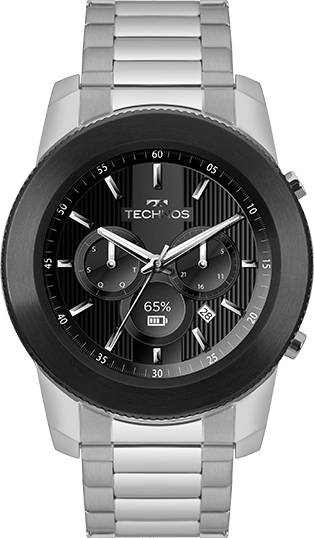 79352cb8382 Relógio Technos Connect 3 Prata M1AC 5P